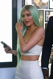 Kylie Jenner Hot Style - Sugar Factory American Brasserie Grand Opening in New York City