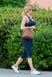 Kylie Jenner in Sports Bra and Leggings - Out in Calabasas, September 2015