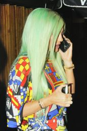 Kylie Jenner - Leaving The Nice Guy! Restaurant Los Angeles, September 2015