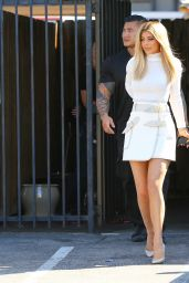 Kylie Jenner Style - Leaving a Studio in LA, September 2015