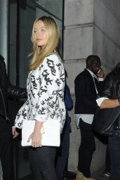 Laura Whitmore – Versus Show at London Fashion Week, September 2015