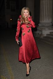 Lauren Frazer-Hutton – LFW S/S 2016 Sorapol Catwalk Show Arrivals – London, September 2015