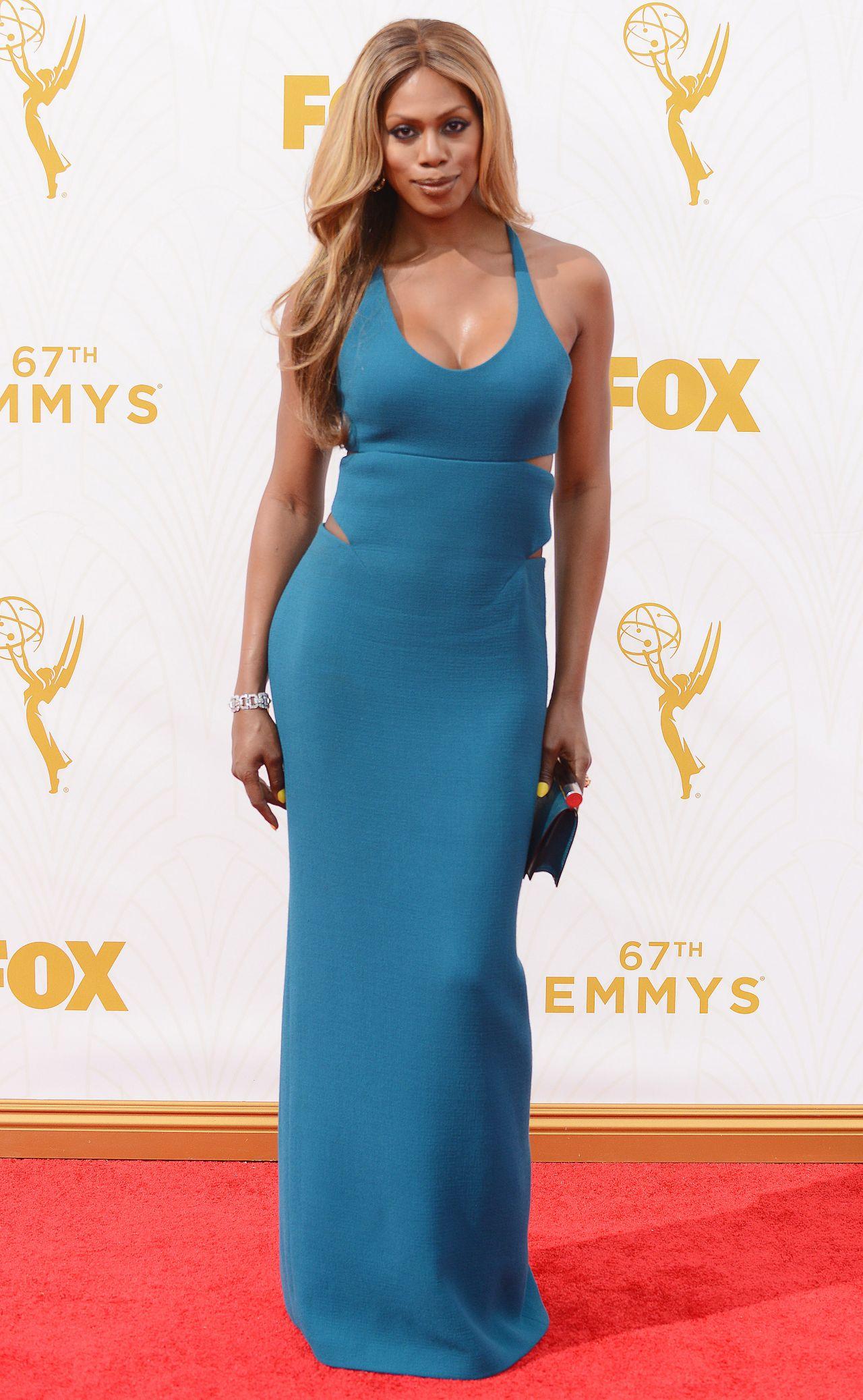 Laverne Cox – 2015 Primetime Emmy Awards in Los Angeles