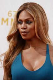 Laverne Cox – 2015 Primetime Emmy Awards in Los Angeles