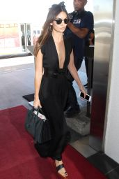 Lily Aldridge - LAX airport in LA, August 2015