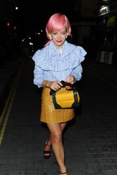 Lily Allen - Love Magazine Party at Lou Lou
