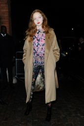 Lily Cole – Love Magazine Party at Lou Lou's in London, September 2015