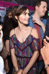 Lily Collins - The A List 15th Anniversary Party in Beverly Hills