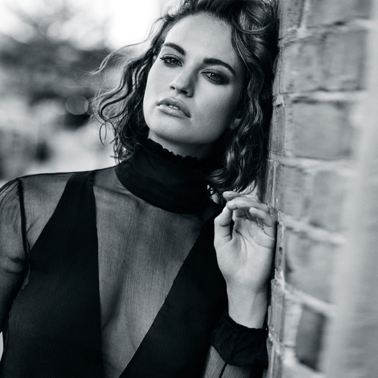 Lily James Photoshoot For The Edit September 2015