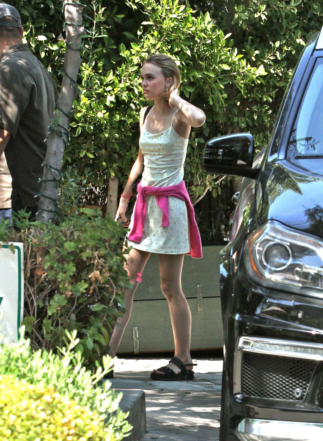 Lily Rose Depp Out In Beverly Hills September 2015