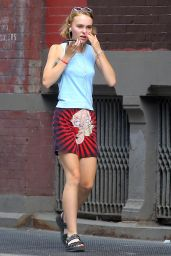 Lily-Rose Depp Out in New York City, September 2015