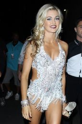 Lindsay Arnold - Getting Ready for DWTS Flash Mob in Hollywood, September 2015