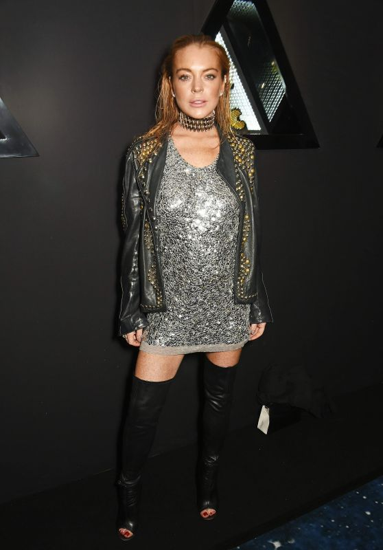 Lindsay Lohan - Nicholas Kirkwood 10 Year Collection Launch and Party