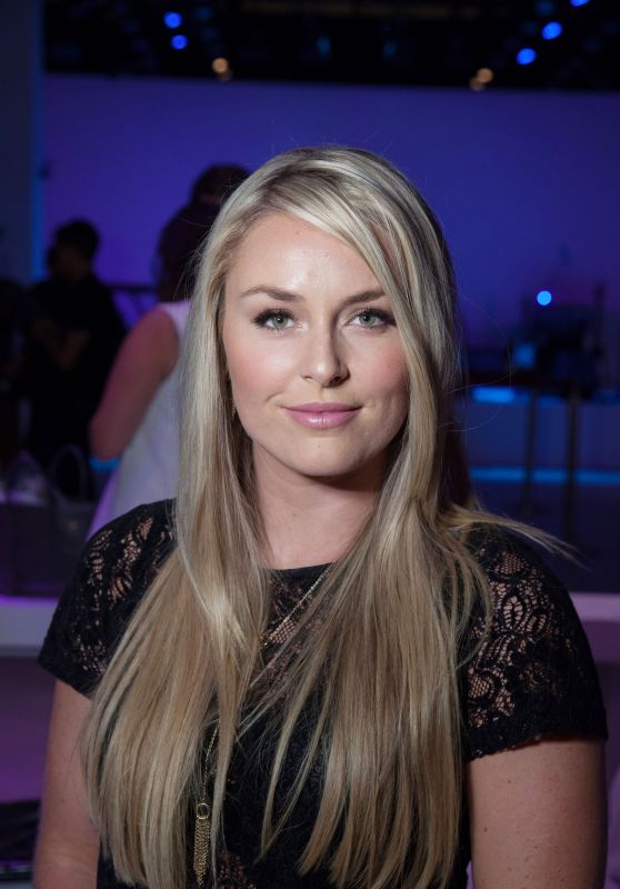 Lindsey Vonn - Rebecca Minkoff Fashion Show in NYC, September 2015
