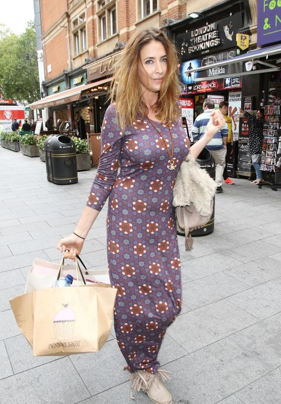 Lisa Snowdon - Leaving Capital Radio in London, September 2015