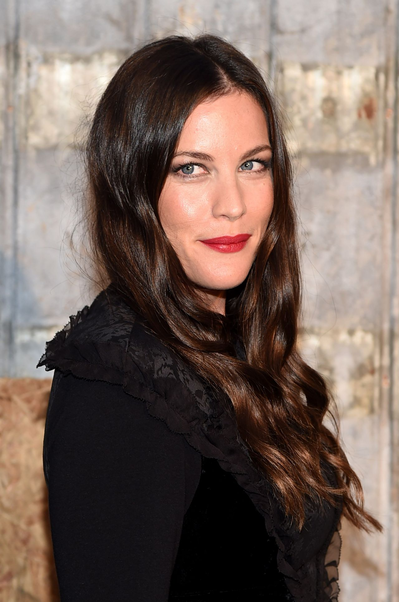 Liv Tyler – Givenchy Show at Spring 2016 NY Fashion Week Liv Tyler