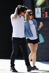 Lucy Hale Enjoys Day With Boyfriend - Out in Studio City, September 2015
