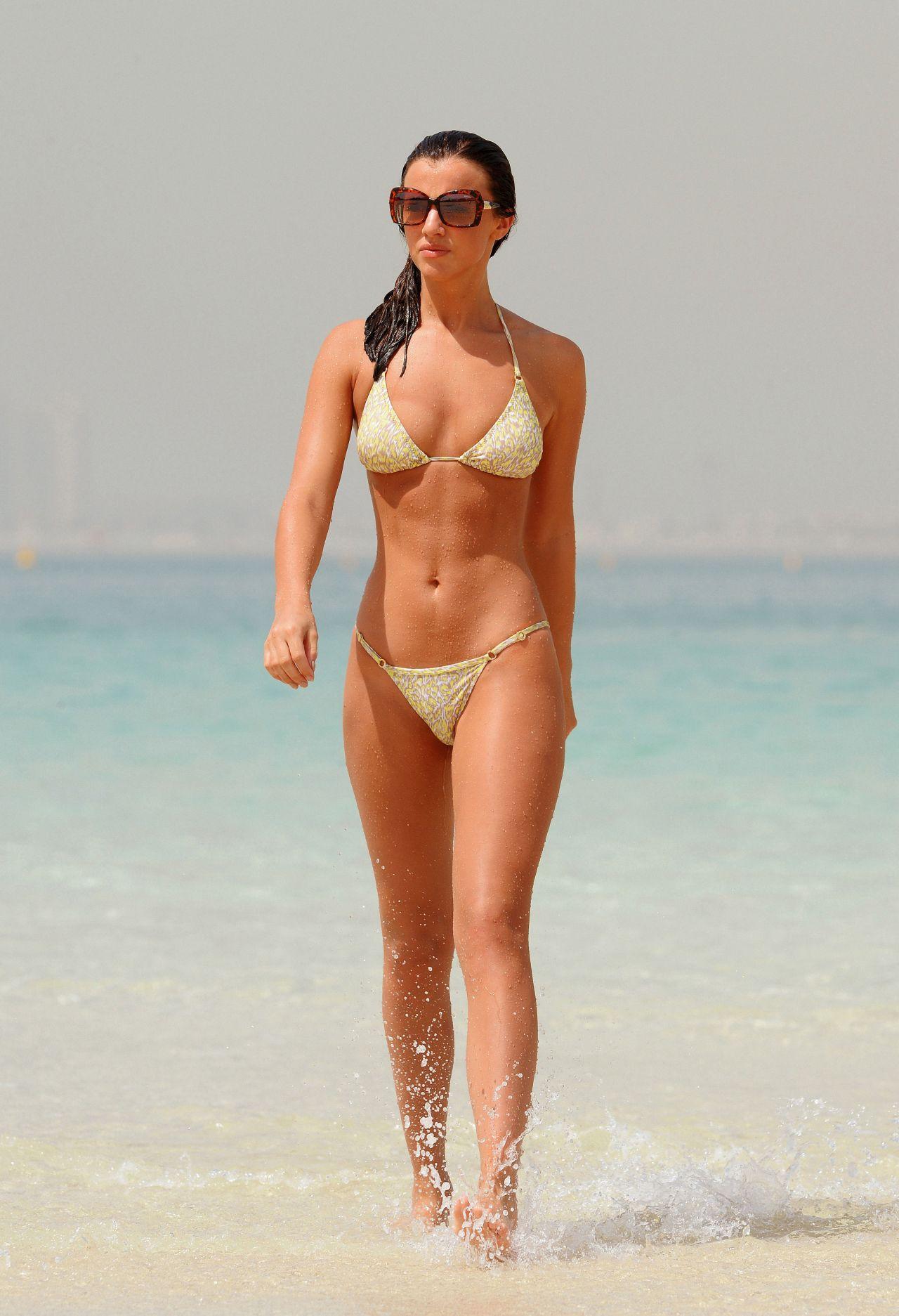 Lucy Mecklenburgh Bikini Hot Pics - Dubai, April 2015-7241