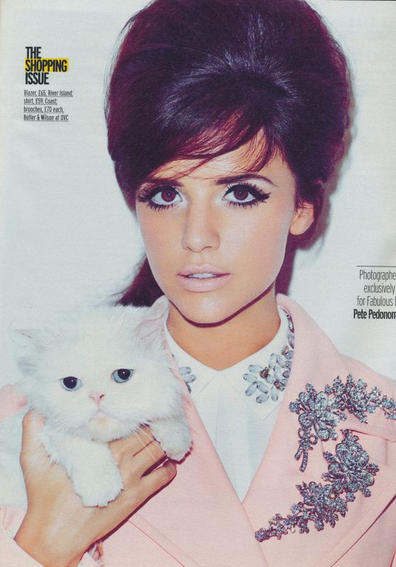 Lucy Mecklenburgh - Fabulous Magazine August 23rd 2015