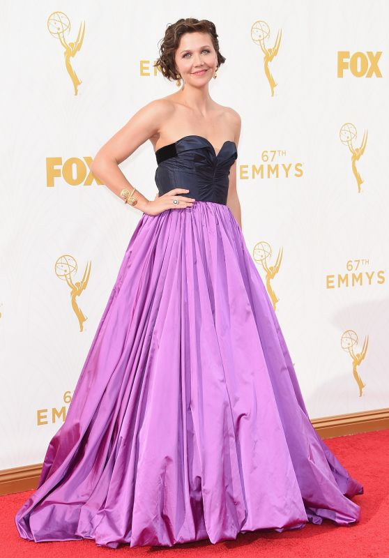Maggie Gyllenhaal – 2015 Primetime Emmy Awards in Los Angeles