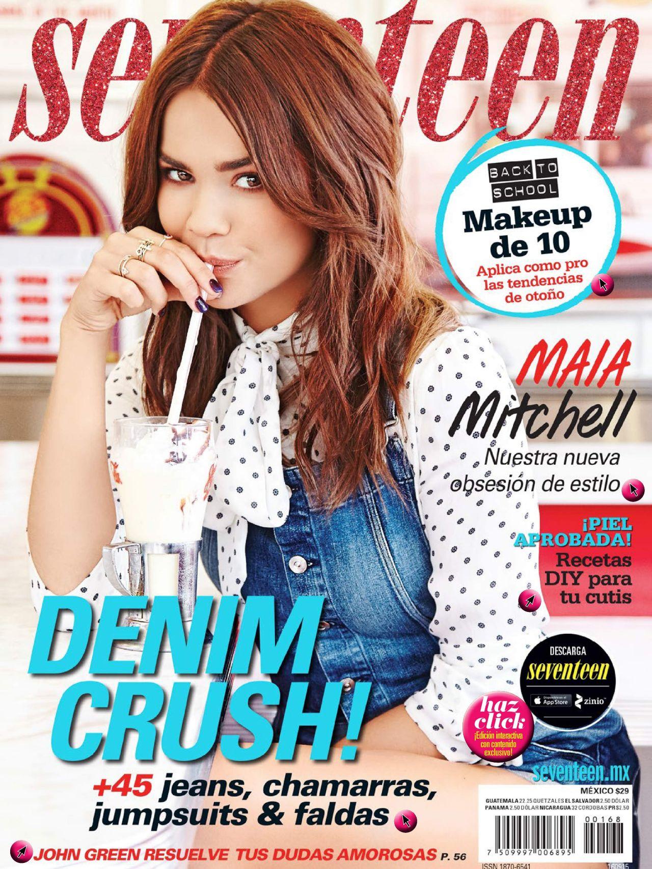 Seventeen Magazine Mexico September 2015 Issue