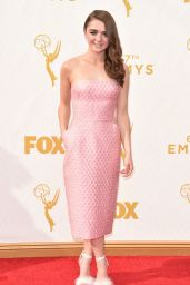 Maisie Williams – 2015 Primetime Emmy Awards in Los Angeles