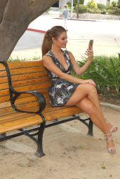Maria Menounos - E! News Set Photos, September 2015