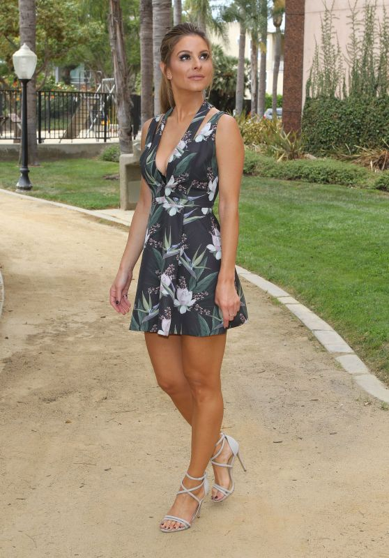 Maria Menounos - E! News Set Photos, September 2015