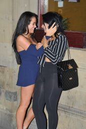 Marnie Simpson & Chloe Ferry - Geordie Shore Girls Night Out - Newcastle Toon