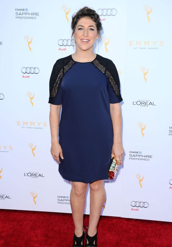 Mayim Bialik - Television Academy Celebrates The 67th Emmy Award Nominees in Beverly Hills