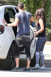 Megan Fox Booty in Tights - at a Griffith Park in LA, September 2015