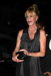 Melanie Griffith Night Out Style - at Craig