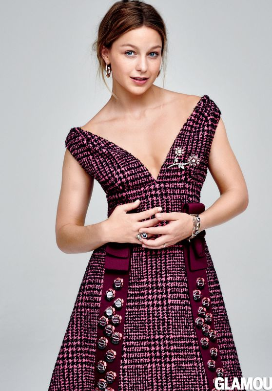Melissa Benoist - Glamour Magazine September 2015