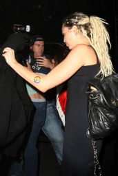Miley Cyrus - Heading to 1OAK Nightclub in West Hollywood, September 2015