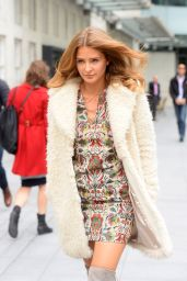 Millie Mackintosh - Leaving BBC Radio 1 in London, September 2015