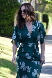 Minka Kelly Style - Out in Los Angeles, September 2015