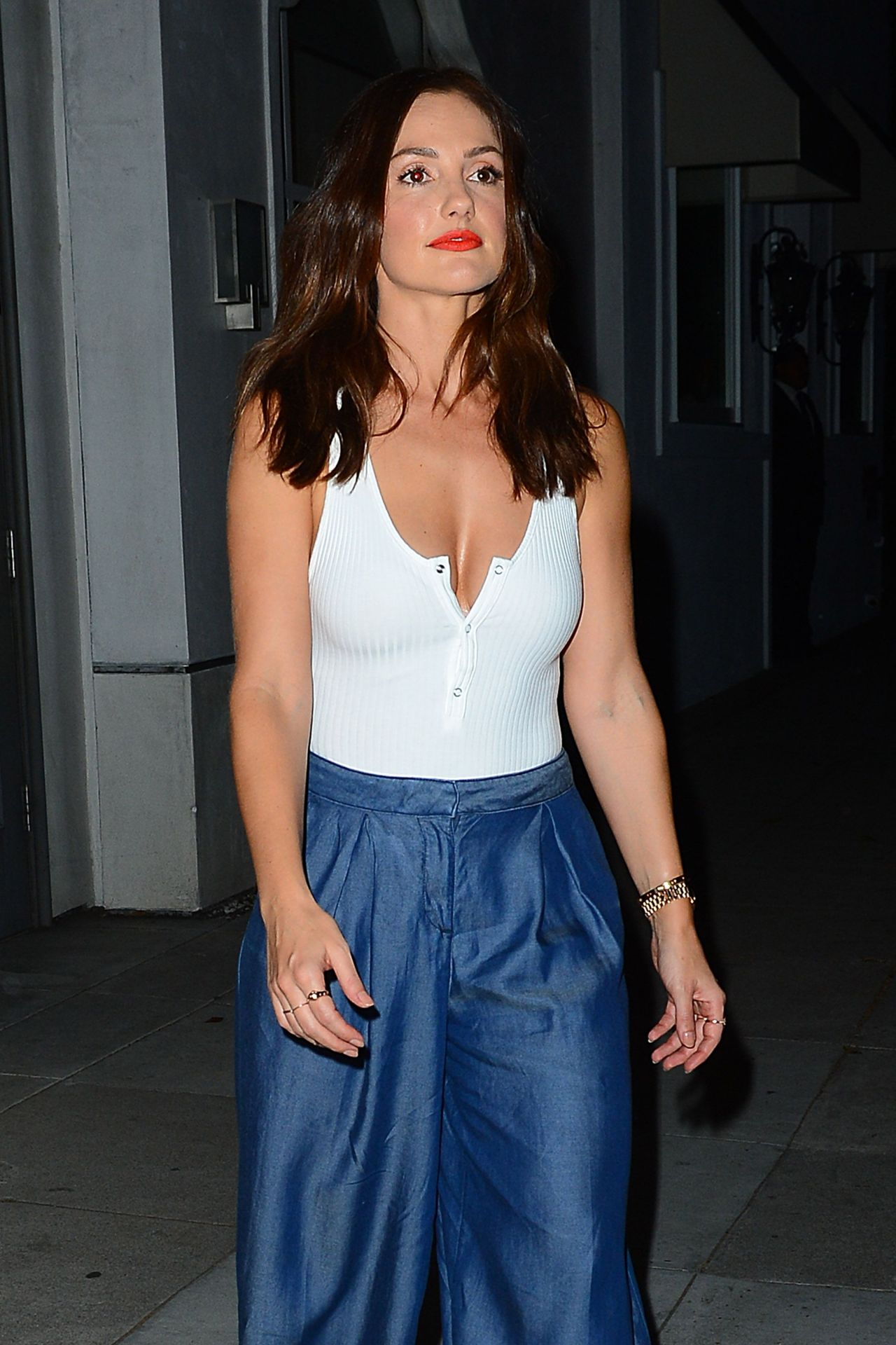 Minka Kelly - The A List 15th Anniversary Party in Beverly ...