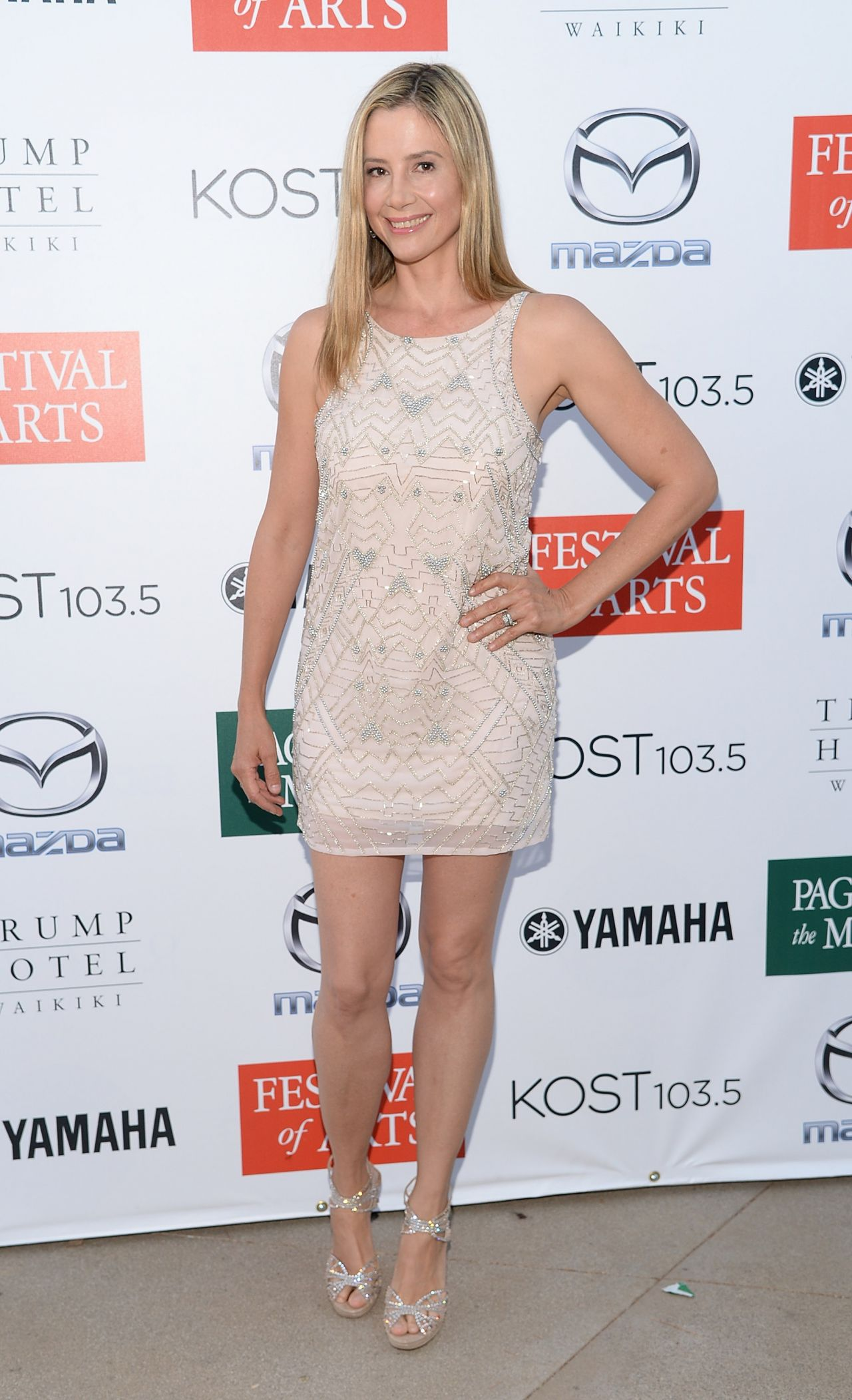 Mira Sorvino 2015 Festival Of Arts Celebrity Benefit Concert And Pageant In Laguna Beach