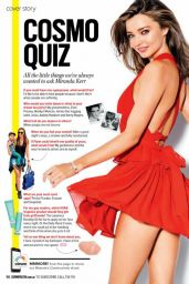 Miranda Kerr - Cosmopolitan (Australia) - October 2015 Issue