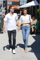 Miranda Kerr & Evan Spiegel - Out in Brentwood, September 2015