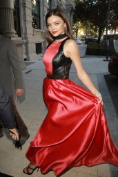 Miranda Kerr - Milan Fashion Week SS16 in Italy, September 2015