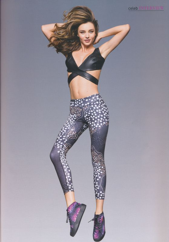 Miranda Kerr – Your Fitness Magazine September 2015 Issue