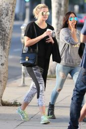 Mischa Barton - Out in Los Angeles, September 2015