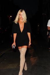 Mollie King - Notion Magazine X Swatch Issue 70 Launch Party in London