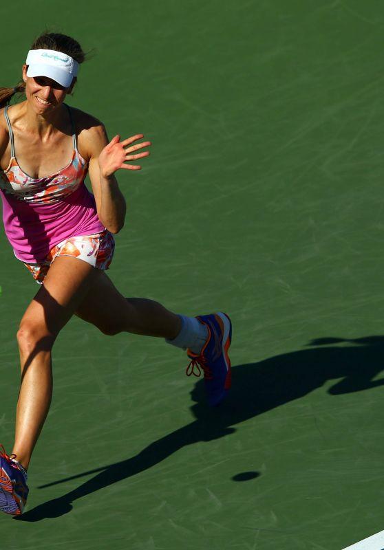 Mona Barthel - 2015 US Open in New York City - Day 6