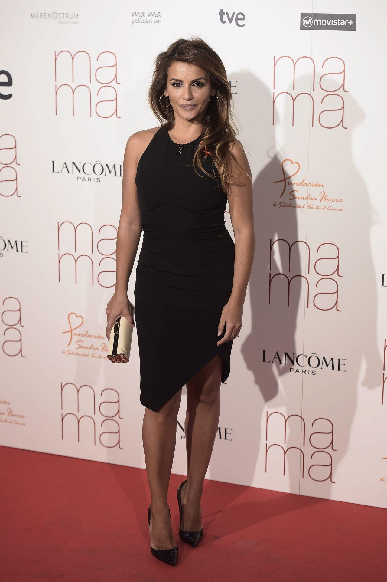 Monica Cruz Ma Ma Premiere In Madrid