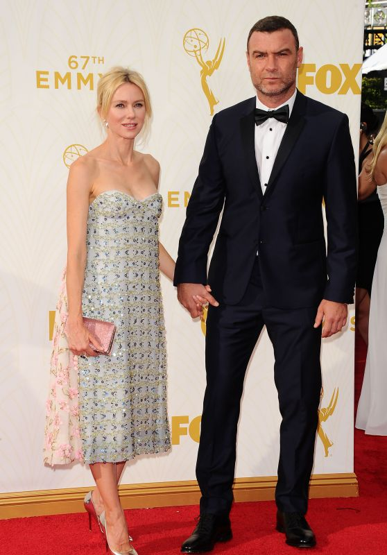 Naomi Watts & Liev Schreiber – 2015 Primetime Emmy Awards in Los Angeles