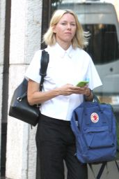 Naomi Watts - Out in New York City Walking Her Dog, September 2015