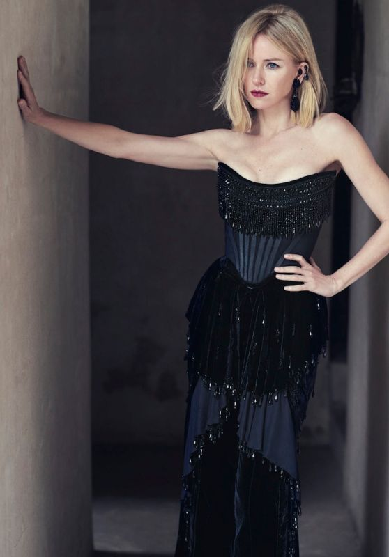 Naomi Watts - Photoshoot for Vogue AU October 2015