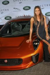 Naomie Harris - Global Unveiling of Jaguar Land Rover Bond Cars in Frankfurt, September 2015